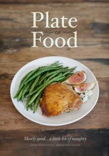 plate of food, cookbook